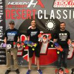 2018 Desert Classic Podium