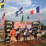 2018 Quebec Classic podium