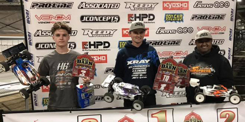 2019 Big Barn Shootout Podium